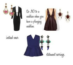 Use this guide the next time you're in doubt as to what necklace goes with what neckline.