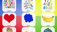 500+ Afrikaans flitskaarte met klank Afrikaans, Plastic Cutting Board, The Creator, Words, Horse