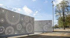 LILA Winner: Saint Ouen, Park Of The Docks by Agence Ter « Landscape Architecture Works Contemporary Landscape, Urban Landscape, Landscape Design, Saint Ouen, Luoyang, Urban Furniture, Artist At Work, Landscape Architecture, Design Elements