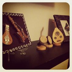 Small Portraits of Arabic Musical Instruments