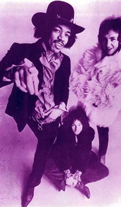 Jimi - everyone wore hats when I was a teen - even our idols - hats are not for old ladies, baby!
