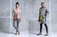 Mercado de moda fitness é explorado por grandes marcas.