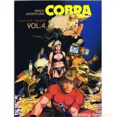 Cobra volume 4 manga color