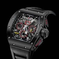 www.watchtime.com | technology  | Richard Mille Introduces Another New Material to Watchmaking | Richard Mille RM011 Carbon 560