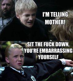 Joffrey vs. Malfoy