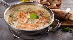 kuracie prsia v parmezánove omáčke Curry, Ethnic Recipes, Food, Curries, Essen, Meals, Yemek, Eten