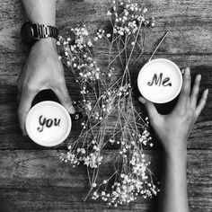 ❤️ You and Me and Coffee ❤️