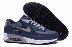 pretty nice ba09f 057a8 air max 90 blanc pas cher,homme air max 90 bleu et blanche Jordan 1