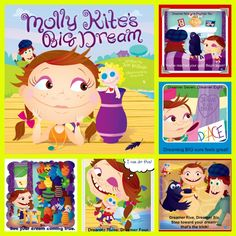 """Molly Kite's Big Dream"" teaches the ABC's of dream building to kids and caregivers."