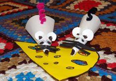 muizen knutselen met kleuters