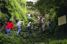 Climbing Tepozteco, Morelos, Mexico
