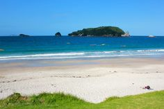 Hahei Beach in Coromandel Peninsula, New Zealand via ZaagiTravel.com