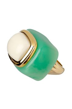 #KJL's Jade and gold ring is a subtle way to bring the deep blue trend into your look! Hire for a fraction of the retail price (£20) here: http://www.wishwantwear.com/accessory-hire/rings/kenneth-jay-lane/699-jade-and-gold-ring.html#