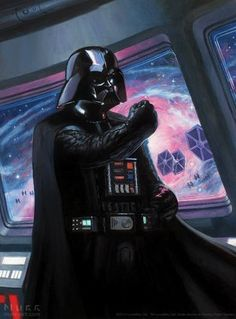 Star Wars: Vader's Command by Jake Murray Vader Star Wars, Darth Vader, Star Wars Kylo Ren, Star Wars Pictures, Star Wars Images, Science Fiction, Fiction Film, Cuadros Star Wars, Movies And Series