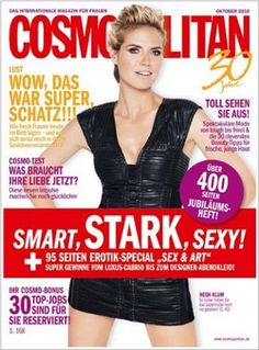 """Cosmopolitan: """"Secrets to getting healthy, shiny hair"""" An interview with the director of our hair loss clinic in Germany. 