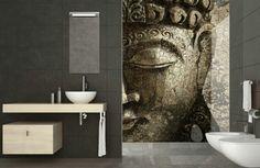 Murals van Affreschi & Affreschi kunnen ook worden toegepast in de badkamer.