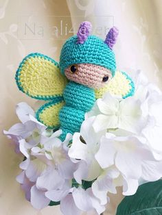 Hey, I found this really awesome Etsy listing at https://www.etsy.com/listing/614450763/butterfly-lalylala-amigurumi-toy