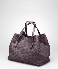 Bottega Veneta Purple Quetsche Intrecciato Nappa Tote Beautiful Bags,  Handbag Accessories, Leather Handbags, fc1361ed92