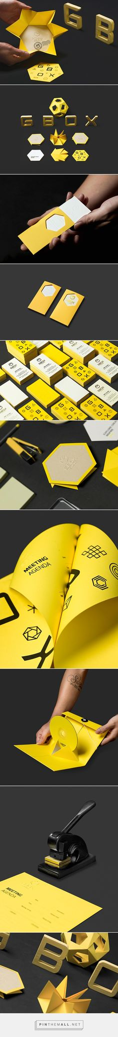 Gbox Studios Branding by Bratus | Inspiration Grid | Design Inspiration... - a grouped images picture - Pin Them All