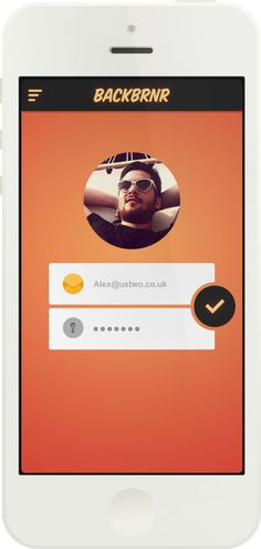 Inspiration Mobile #8 : Création de compte & connexion   Blog du Webdesign