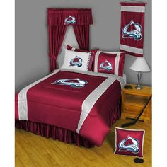 Colorado Avalanche NHL Sidelines Collection Complete Set Twin