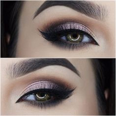@anastasiabeverlyhills Shadow Couture Palette (Morocco, Fudge, Noir, Pink Champagne), Waterproof Creme Color in Jet, @nyc_new_york_color Liquid Eyeliner, @lashesbylena Lashes in Kendall #wakeupandmakeup#anastasiabrows#anastasiabeverlyhills#vegas_nay#hudabeauty#brian_champagne#norvina#dressyourface#laurag_143#auroramakeup#amrezy#miaumauve#mayamiamakeup#makeupartistsworldwide#newyorkcolor#sigmabrushes#universodamaquiagem_oficial#zoevabrushes#zoeva