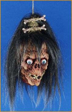 Image Detail for - Halloween Props Voodoo Head Prop
