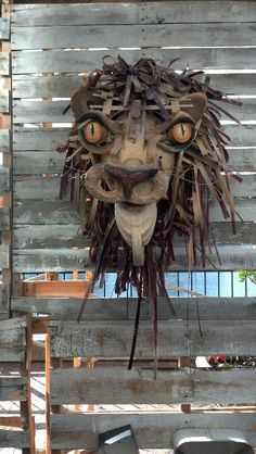 Made from junk metal