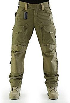 Amazon.com : ZAPT Tactical Molle Ripstop Combat Trousers Army Multicam/A-TACS LE Camo Pants for Men (Coyote Brown, S) : Sports & Outdoors