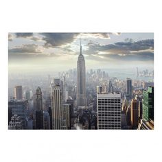 Vliestapete - Sonnenaufgang in New York - Fototapete Breit