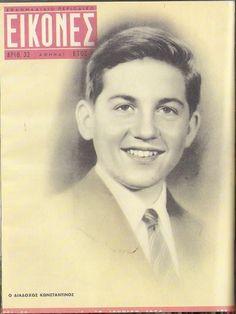 Περιοδικό ΕΙΚΟΝΕΣ: (Τεύχος 32. 04-10/06/1956). Ο Διάδοχος Κωνσταντίνος Β'. (1940).