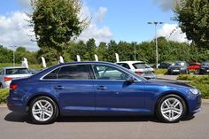 2016 Audi A4 Saloon 2.0 TDI (150 PS) Ultra SE, 4999 miles, Blue, Diesel…