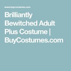 Brilliantly Bewitched Adult Plus Costume | BuyCostumes.com