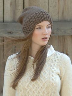 6959dfe59c0 You can use either Novita 7 Veljestä yarn or Novita Suomivilla (Finnwool)  yarn to knit this cozy and warm beanie . One size (adult).