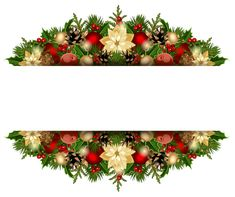 Christmas Deco PNG Clipart Picture
