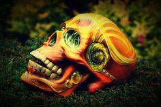 Zucker-Skull-Tag der tot handgemachte Sugar Skulls von CandyCherep