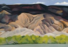 Back of Marie's No. 4, Georgia O'Keeffe, 1931, oil on canvas.