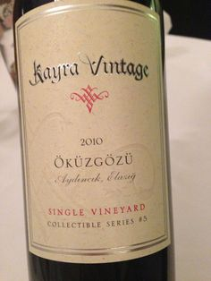 a must-try turkish wine.