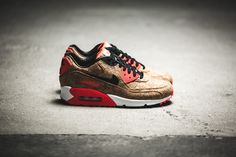 ***RELEASE REMINDER*** The Nike WMNS Air Max 90 Anniversary (cork/Infrared) is dropping at our shop tomorrow! 3.6.2015 | 9:00h CET | EU 36 - 42 | 150,-€