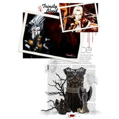 """Trinity Blood"" by the-sunflower on Polyvore"