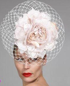 Evening Bridal hat Philip Tracey