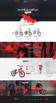 Animal Riders - Web Design by Shizoy on DeviantArt - Animal Riders – Web Design by Shizoy - Web Design Mobile, Site Web Design, Web Design Websites, Creative Web Design, Website Design Layout, Web Layout, Layout Design, Ui Design, Design Responsive
