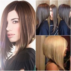 The bob is all the rage and we say go for it. If you want to change things up go and get a bob you will be SO in. Here is a dramatic bob. It takes your classic layered a-line bob and extends it to ...