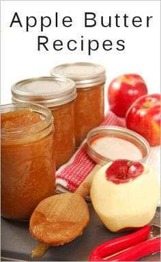 Apple Butter Recipes