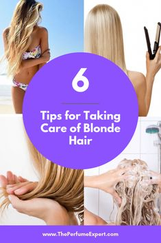 How to Take Care of Blonde Hair Learn these tips for properly maintaining blonde hair and preventing brassy tones | www.theperfumeexpert.com