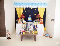 festa de aniversario o pequeno principe painel