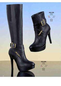 7b88b322 21 mejores imágenes de Calzado ANDREA | Over knee socks, High heels ...