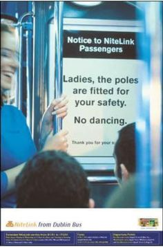 Pole Dancing Banned : Exercise On Trains : Humour : Funny Photos