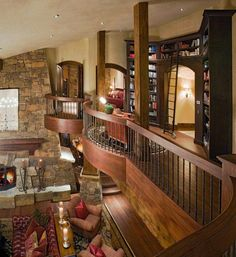 If I had the wealth.                                                  Omg I want a house like that <3