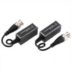 1 Pair 720P 1080P Video Balun AHD CVI TVI Coax to UTP Cat5 Cat6 Connector for CCTV Camera